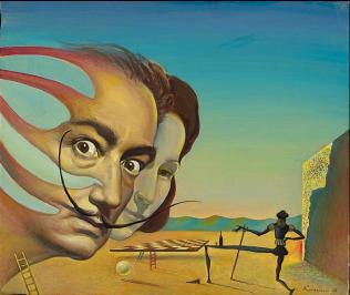 Homenaje a Dalí