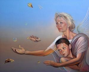 Cristina y Didier. Óleo sobre lienzo, 81 x 100 cm. 2006